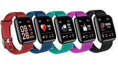 an Android Colour Screen Smart Sports Activity Tracker with Heart Rate Monitor