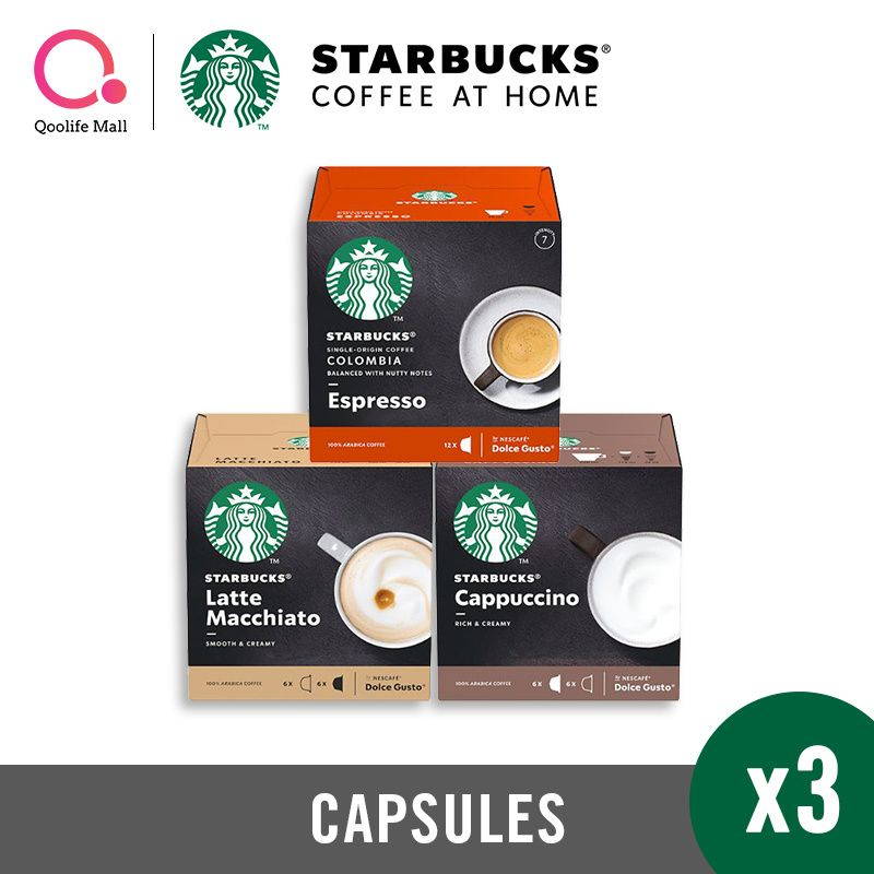 (3 BOXES) STARBUCKS NESCAFE DOLCE GUSTO CAPSULES Deals for only S$25.05 instead of S$25.05