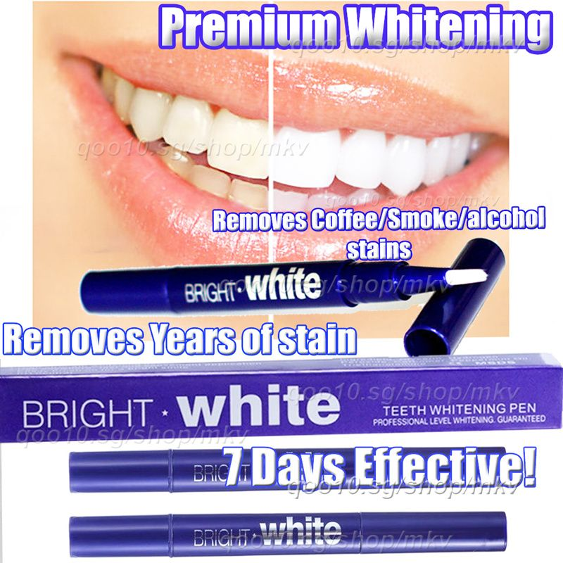 AUTHENTIC MADE IN USA! BRIGHT WHITE TEETH WHITENING PEN WHITESTRIPS RESULTS GUARANTEED! Deals for only S$4.87 instead of S$33.82