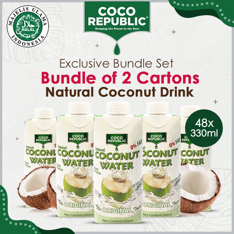 Coco Republic Natural Coconut Water