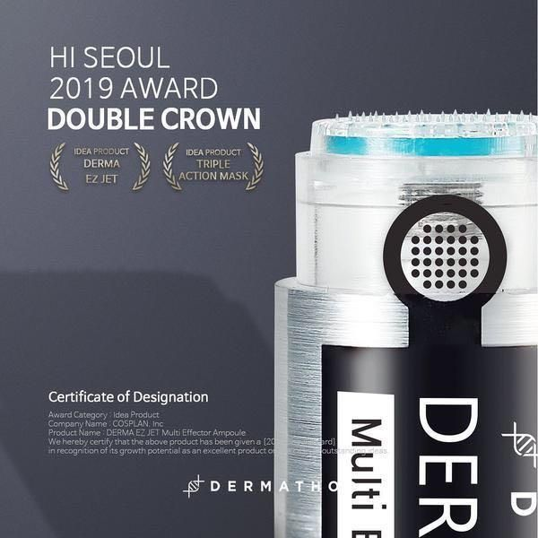 BEST SELLER IN KOREA DERMA EZ ZET MULTI EFFECTOR AMPOULE DERMATHOD COCOMO EXCLUSIVE Deals for only S$32.5 instead of S$660