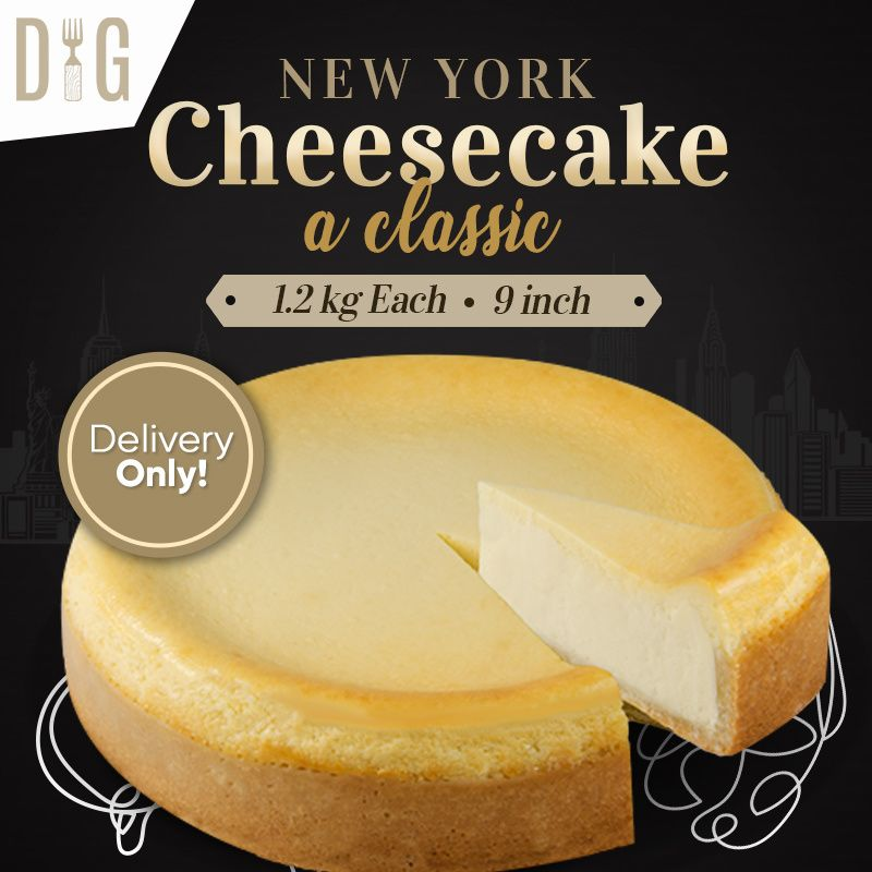 Garden] New York Cheesecake