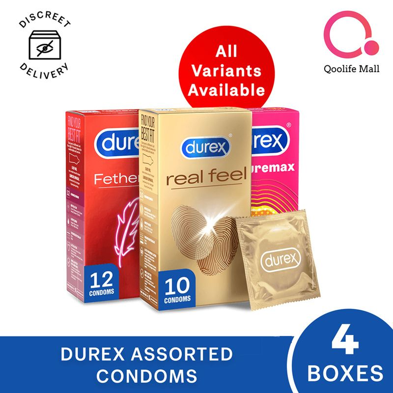 Durex 10s/12s Condoms - All variants available |DISCREET PACKAGING|