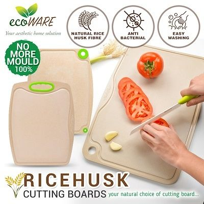 Natural Material Ricehusk Cutting Boards