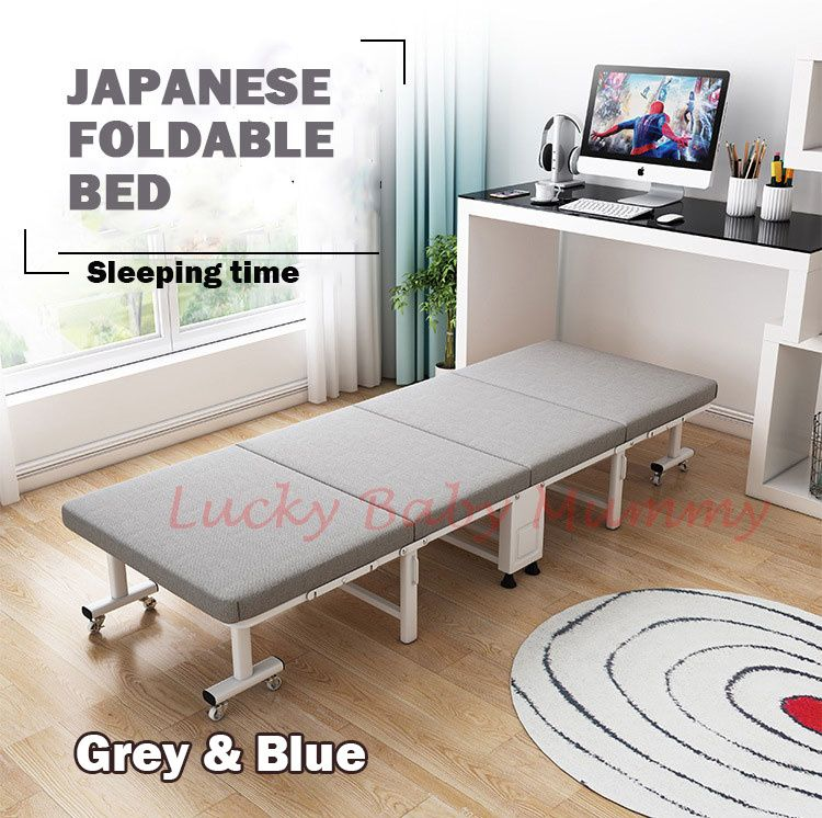 ELOISE Premium Japanese Foldable Single Bed/Folding Queen Deals for only S$99 instead of S$200
