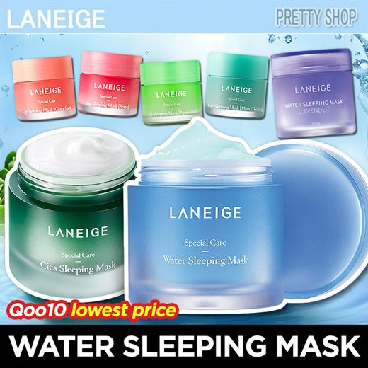 2 DAYS ONLY[LANEIGE] WATER SLEEPING MASK SERIES / LIP SLEEPING MASK / WATER BANK / LAVENDER Deals for only S$14.9 instead of S$39