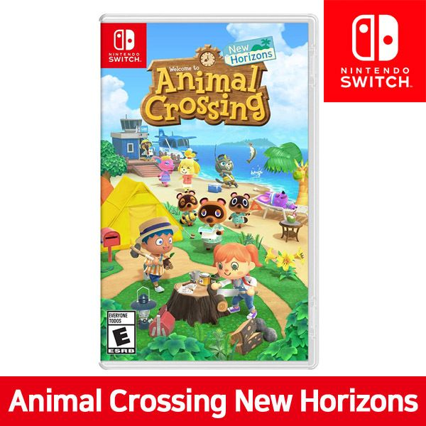 Stock!!] Nintendo Switch Animal Crossing