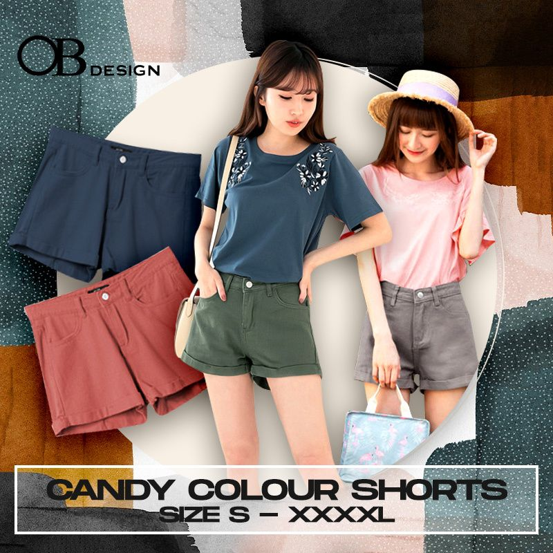 WEEKEND X OB CLUB x BEST SELLING SHORTS PANTS PREMIUM BLOUSE TOPS PLUS SIZE S-XXXL SIZE Deals for only S$10 instead of S$29.9