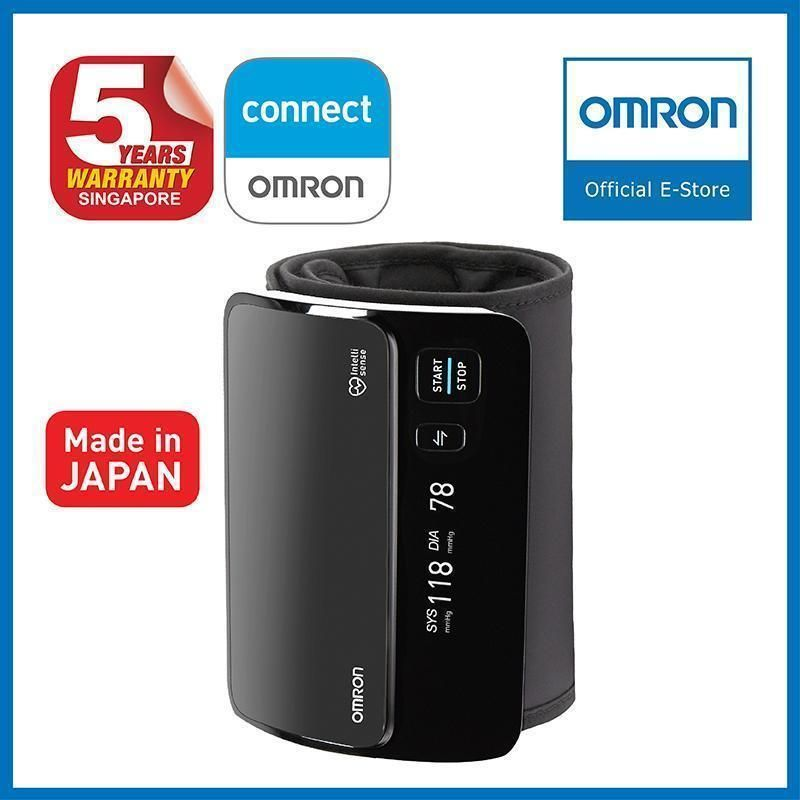 Omron Portable Smart Elite Upper Arm Blood Pressure Monitor HEM-7600T 5 Years Local Deals for only S$169 instead of S$229