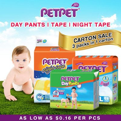 Pants Diapers S/M/L/XL/XXL