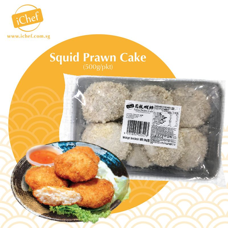Squid Prawn Cake