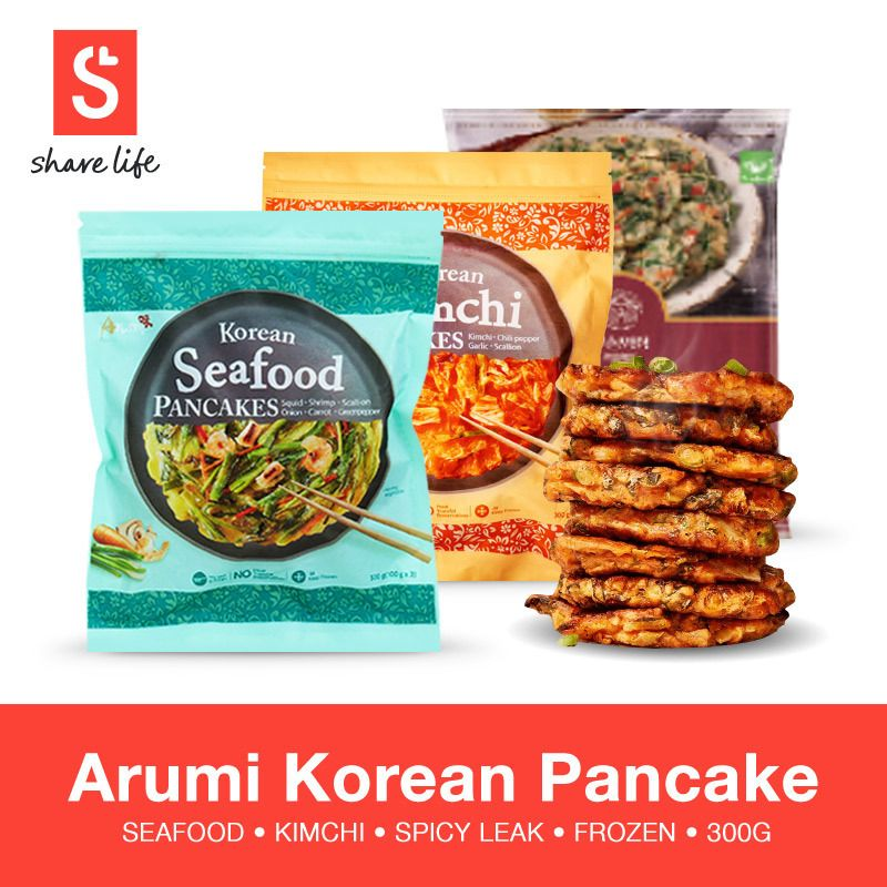 Korean Food)Arumi Korean Pancake Deals for only S$6 instead of S$35