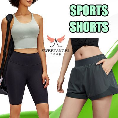 =SweetangelShop Local Seller/Exchange= Sports Shorts Skirts Skorts Gym Yoga Zumba Running Deals for only S$8.9 instead of S$29.9