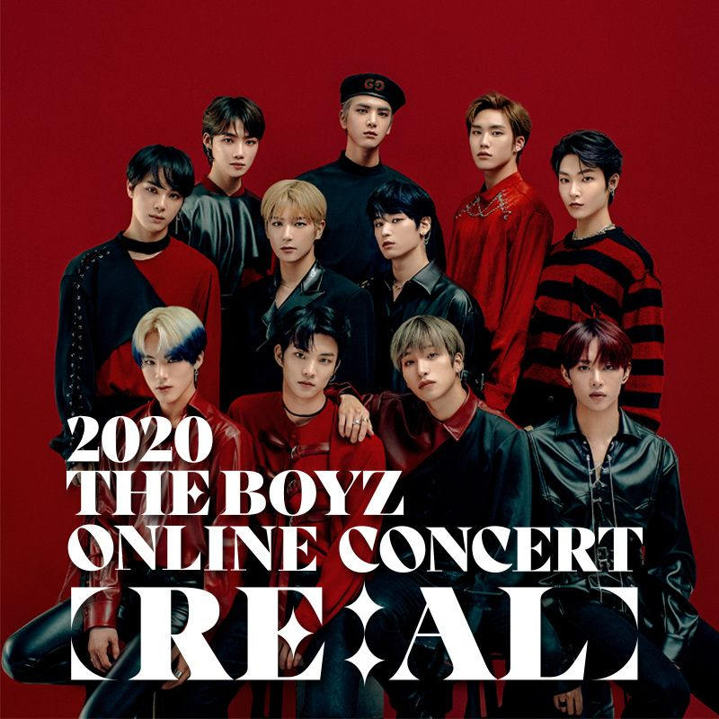 THE BOYZ ONLINE CONCERT Deals for only S$45 instead of S$55