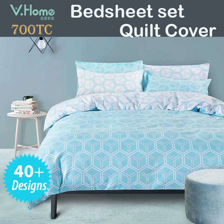 Vhome Fitted Bedsheet