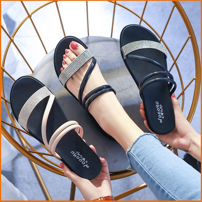 Women Fashion Strap Sandals/Soft