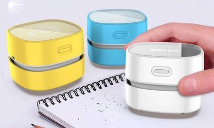 Mini Portable Desktop Vacuum Cleaner
