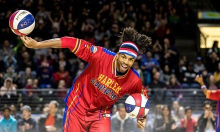 Harlem Globetrotters Game on Sunday, December 9 at 3 p.m Deals for only C$40 instead of C$61