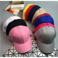 Plain Baseball Caps Hats Visor DIY Decorate your own Velcro Deals for only ₱119 instead of ₱119