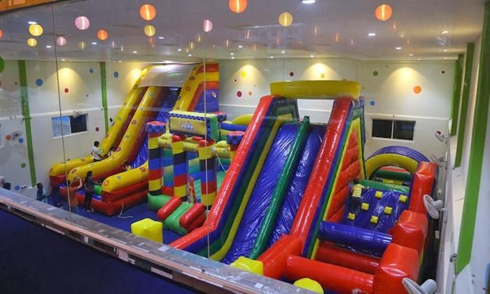 Access to Kid's Play Area with Chinese/Italian Food Combos Deals for only Rs.249 instead of Rs.250