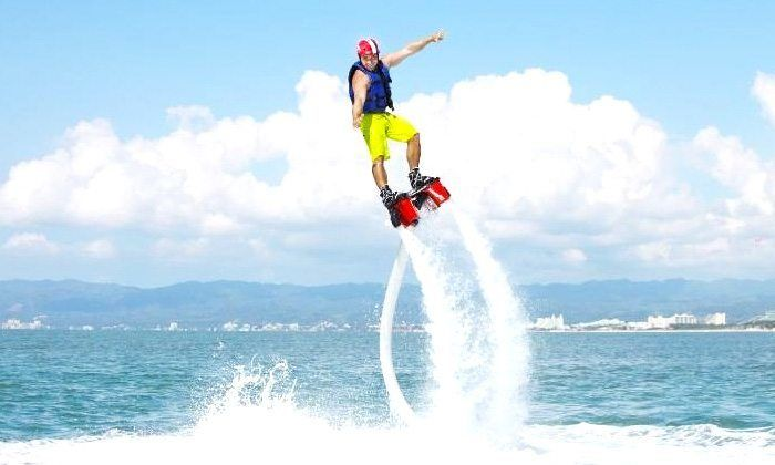 Flyboarding in Goa with Speed Board Cruising Deals for only Rs.3000 instead of Rs.3000