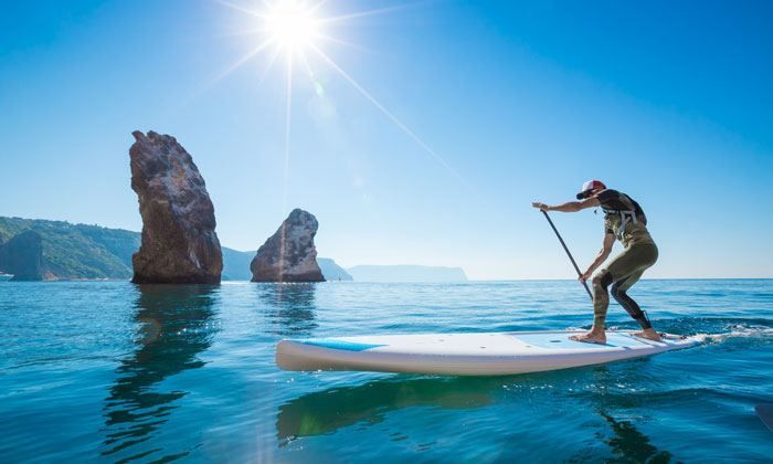 Standup Paddleboarding at Goa Travel Activities Deals for only Rs.500 instead of Rs.500