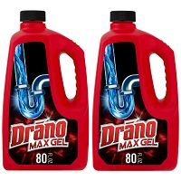 Drano Max Gel Clog Remover, 80 fl oz Deals for only $12.12 instead of $12.12
