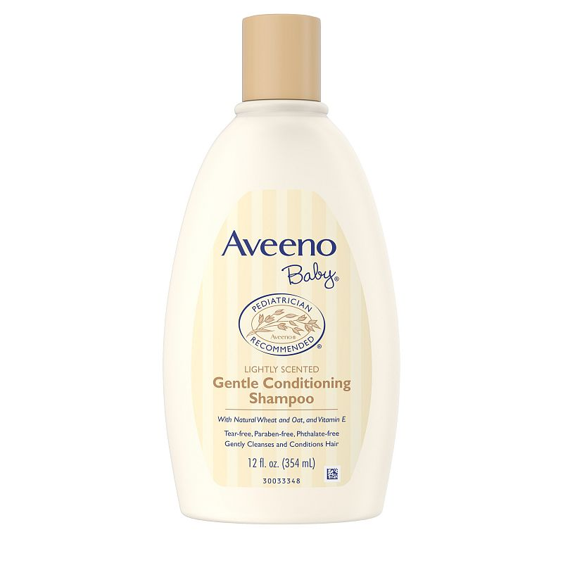 Aveeno Baby Gentle Conditioning Shampoo with Natural Oat, 12 fl. oz