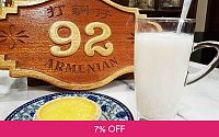 Stewed Bird's Nest with Fresh Milk and Bird's Nest Tart for 1 Person at 92 Armenian Deals for only RM16.8 instead of RM18