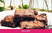 700g Homemade Walnut Brownies at Li Bake Studio Deals for only RM56 instead of RM80
