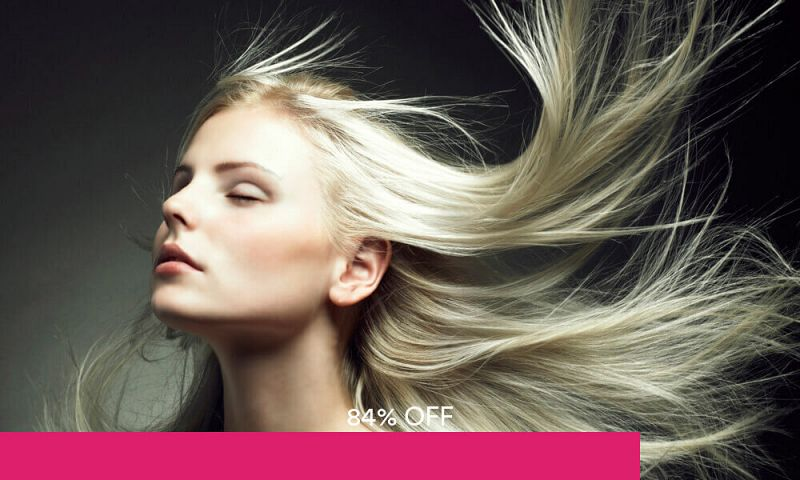 Hair Chemical Service with L'Oréal Hair Treatment + Cut, Wash, and Blow for 1 Person at D'one Perfection