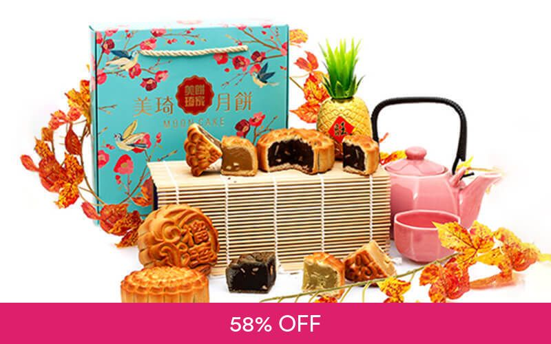 Regular Size Baked Mooncakes