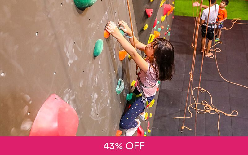 1-Hour ClimbKids Group Trial Programme for 1 Child at Verticlimb