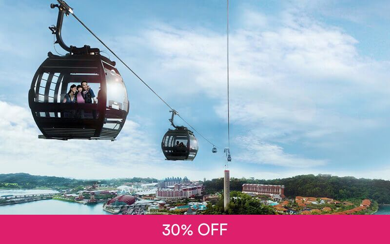 Singapore Cable Car Sky Pass Round Trip for 1 Child at One Faber Group Deals for only S$17.5 instead of S$25