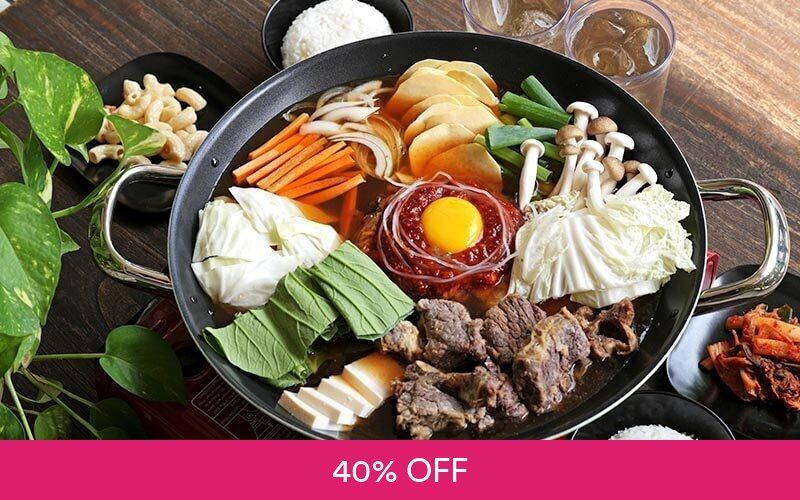 Paket Makan Beef Ribs Kimchi Jjigae Deals for only Rp97.000 instead of Rp162.000