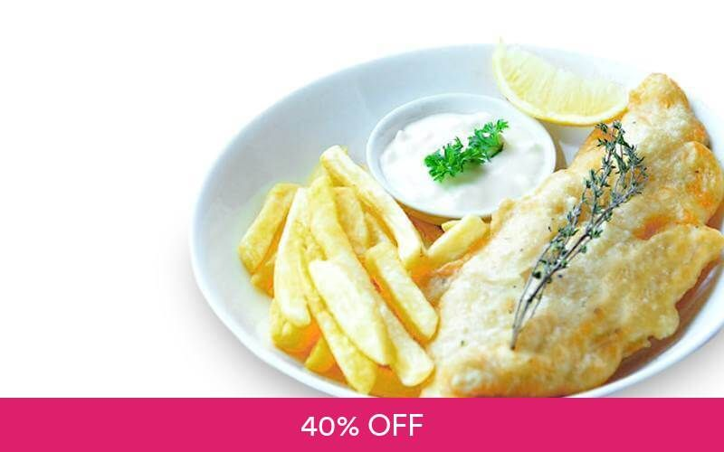 2 Reguler Fish Deals for only Rp44.000 instead of Rp73.000